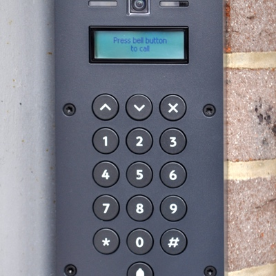 Securus self storage entrance keypad security