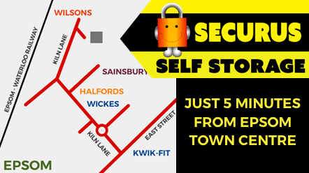Securus Self-Storage map