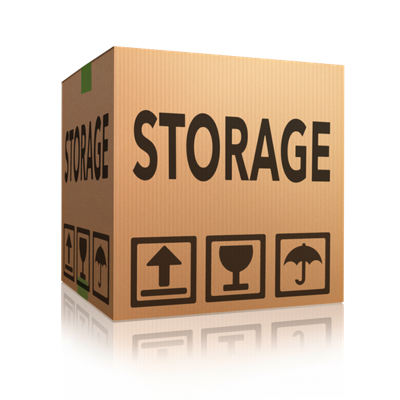 Self storage storage box